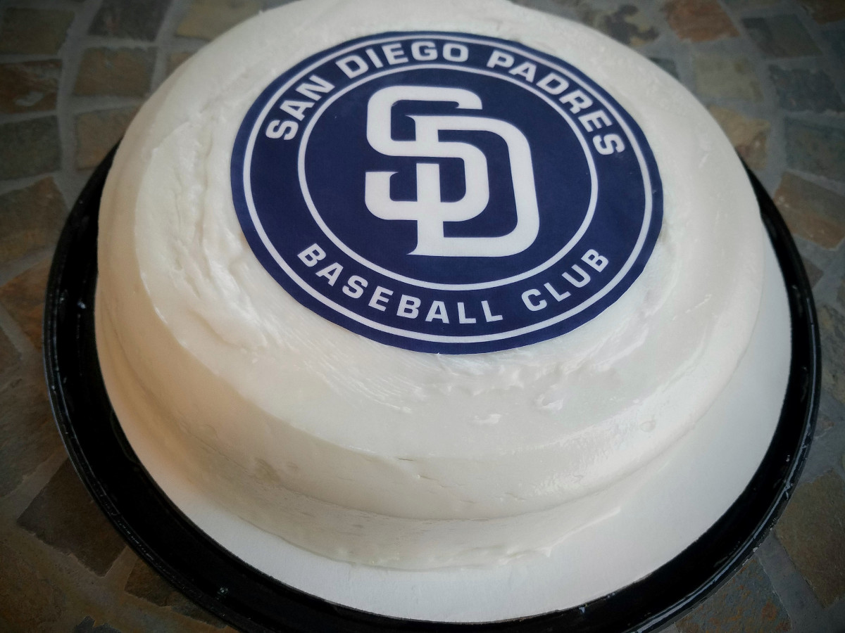 padres cake one