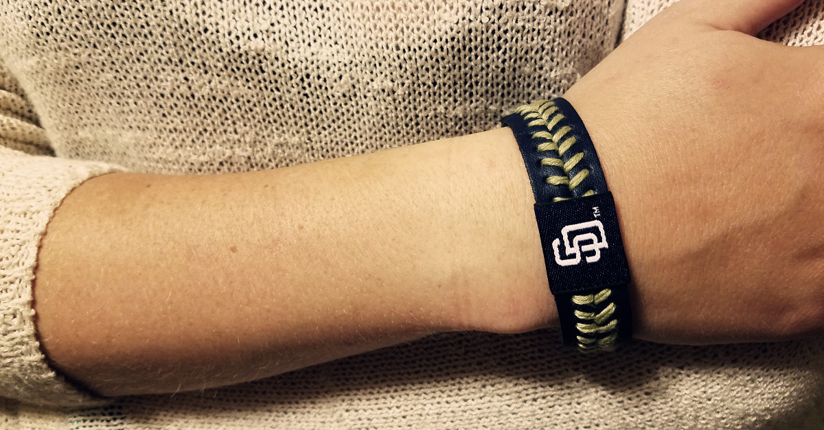 padres bracelet