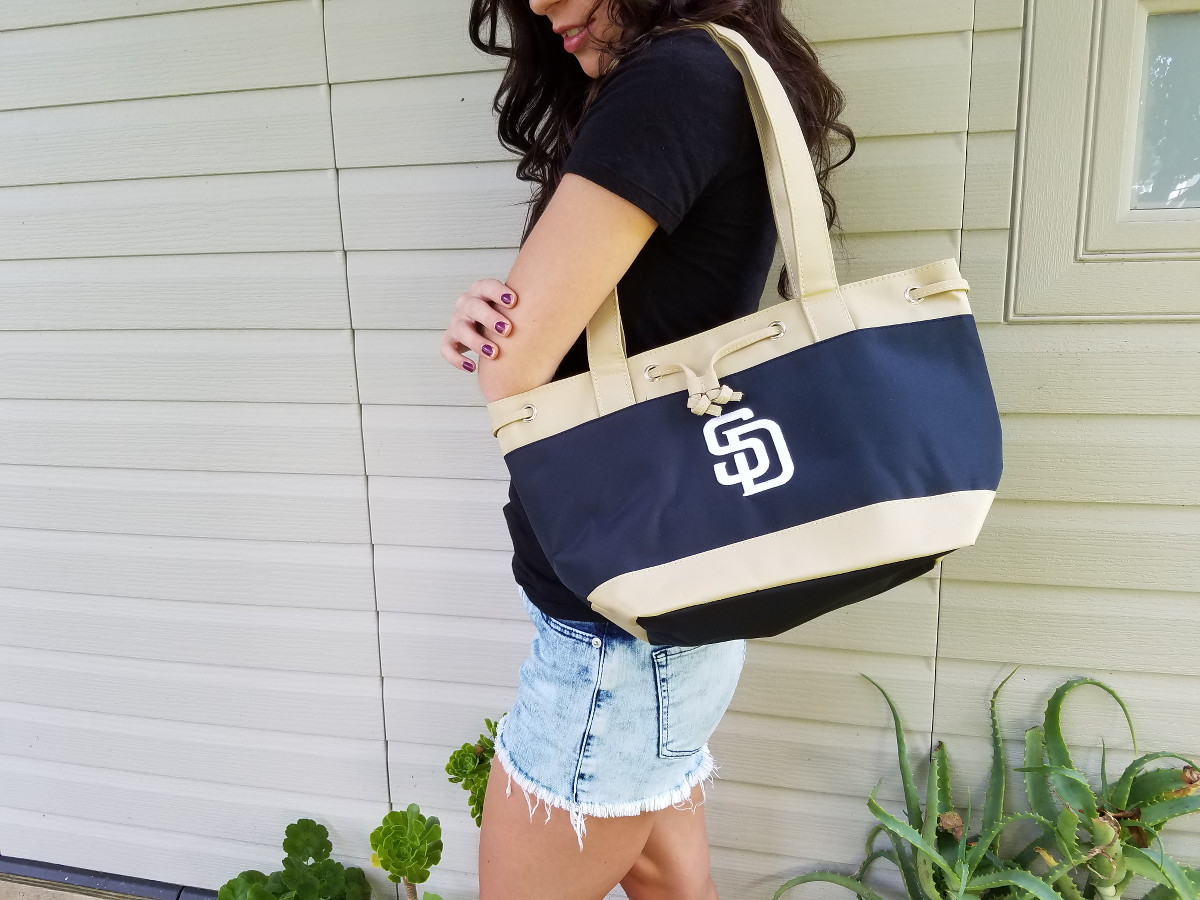 padres insulated lunch tote