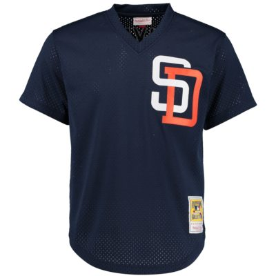 Tony Gwynn Mitchell & Ness Cooperstown Mesh Batting Practice Jersey