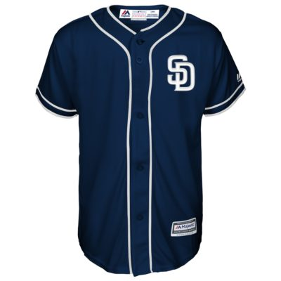 Youth Navy Official Cool Base Player Jersey